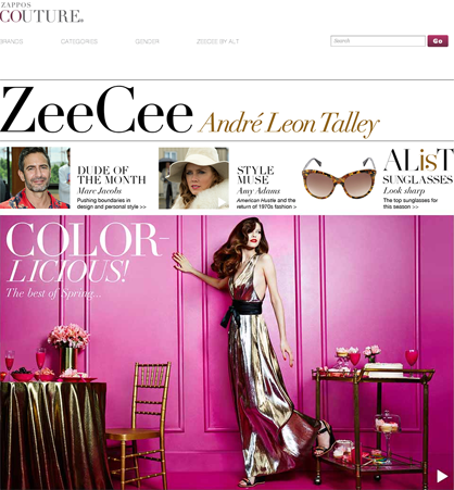 Andre Leon Talley for Zappos Couture