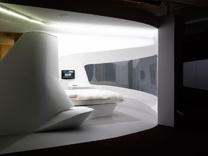 The Future of Hospitality Futuristic Rooms Future Hotel LAVA
