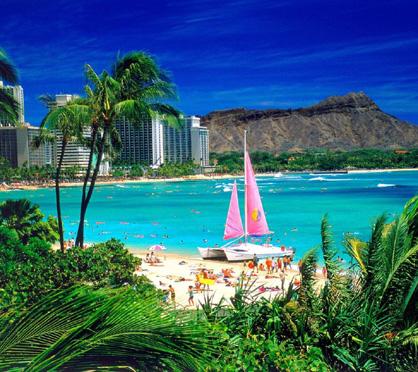 Most Beautiful Beaches Waikiki Beach Hawaii