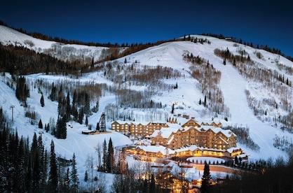 Ski Resort Park City Utah