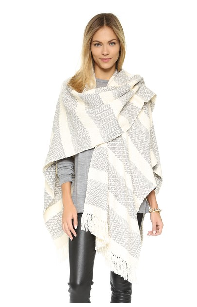 How to Wear the Poncho Trend