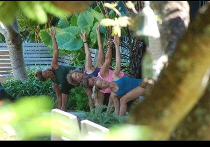 Summer Fitness Retreats Lumeria Maui Yoga-SUP