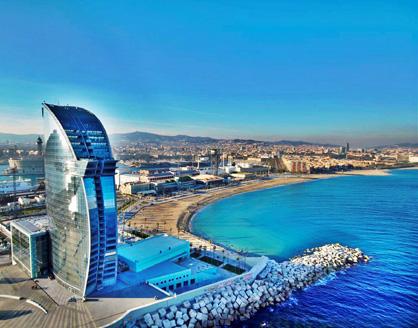 Barcelona Summer Hot Spot