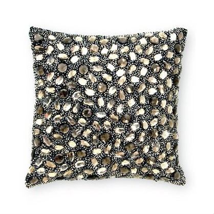 Home Accents for the Glamour Girl: Beaded Pillow
