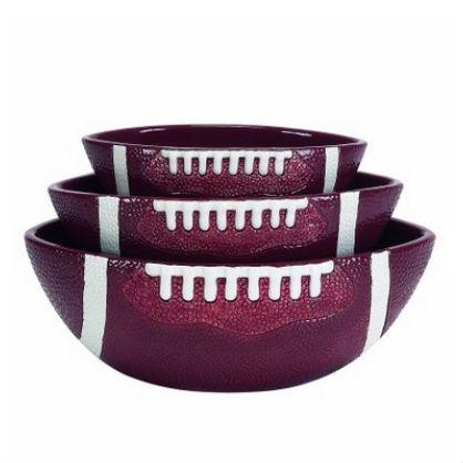 Football Serving Bowls