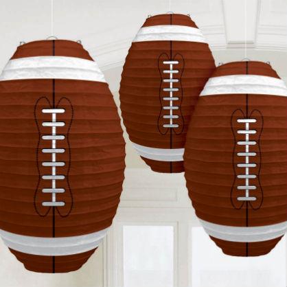 Hanging Football Lanterns