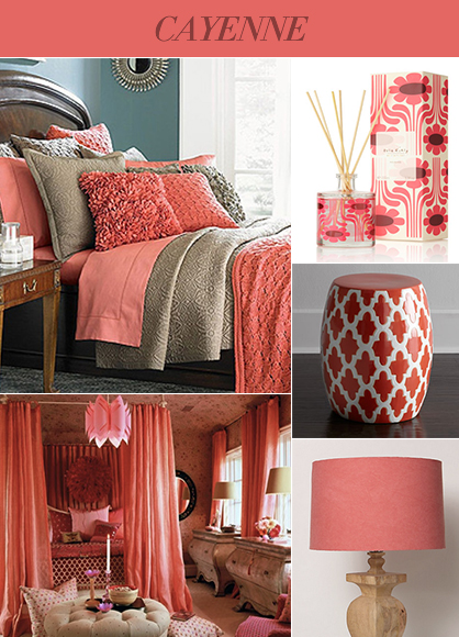 2014 Interior Color Trends: Cayenne
