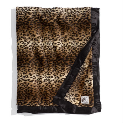 Home Accents for the Glamour Girl: Leopard Throw