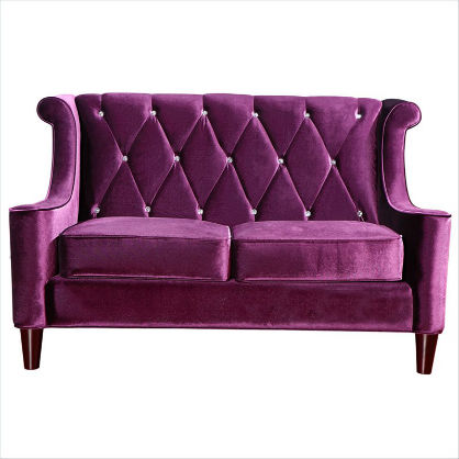 For the Home: Radiant Orchid Couch