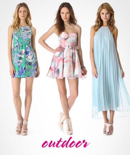 Dresses for an Outdoor Wedding