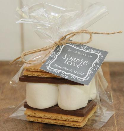 Wedding DIY Ideas: Smore Love Favors