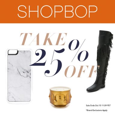 Shop Now: Shopbop Friends & Family Sale