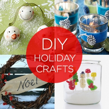 9 Easy DIY Holiday Crafts