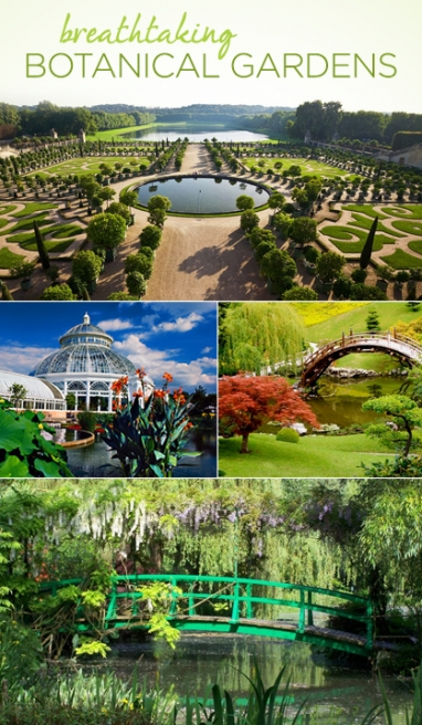 LUX Travel: Breathtaking Botanical Gardens