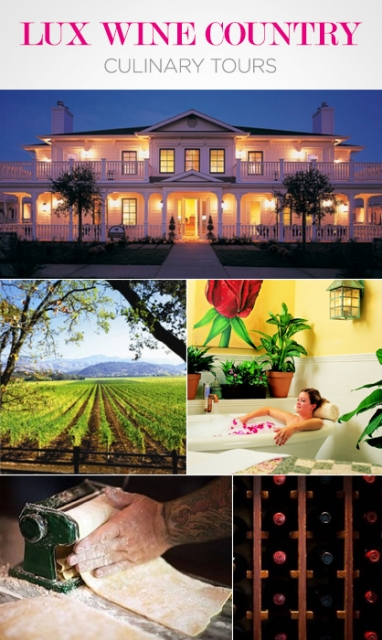 LUX Travel: Wine Country Culinary Retreats