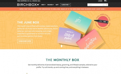 The Best Monthly Subscription Boxes