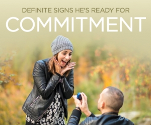 Ways to Know He's Ready to Commit