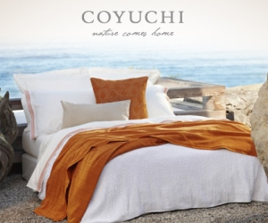 Coyuchi organic cotton brings nature home