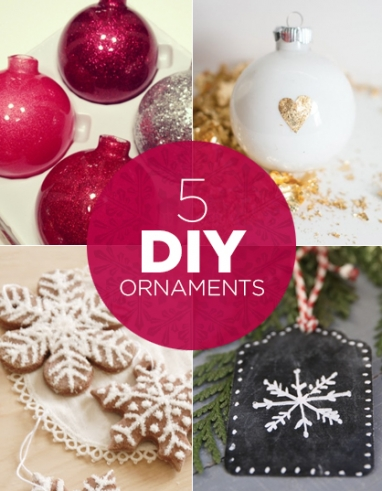 LUX Home: 5 Must-Try DIY Ornaments