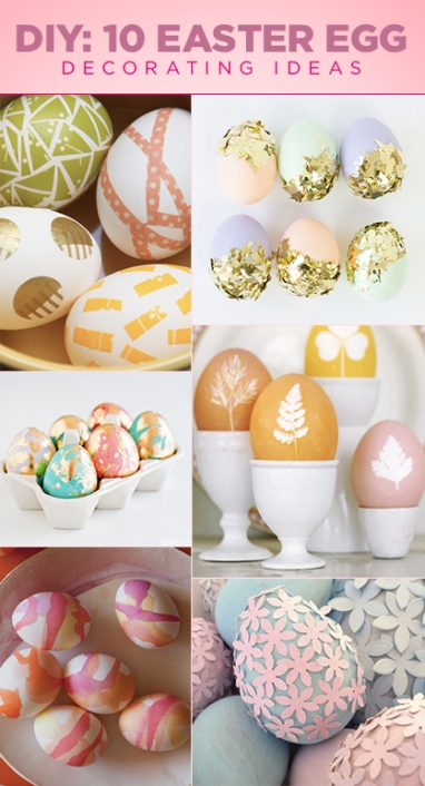 Try It: 10 Easter Egg DIYs