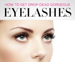 Genius Tricks for Long, Lush Eyelashes
