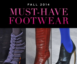 Fall's Best in Shoe