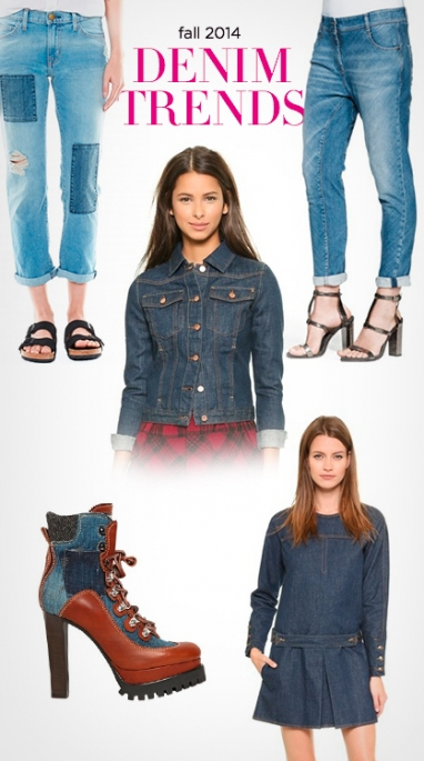 Fall 2014: Denim Trends You'll Want to Wear