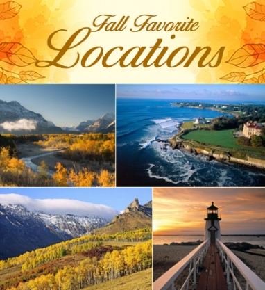 LUX Travel: 5 Fall Favorite Locations