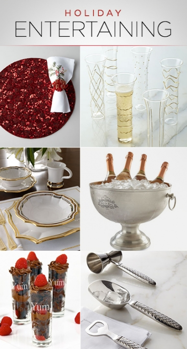 LUX Home: 10 Holiday Entertaining Must-Haves