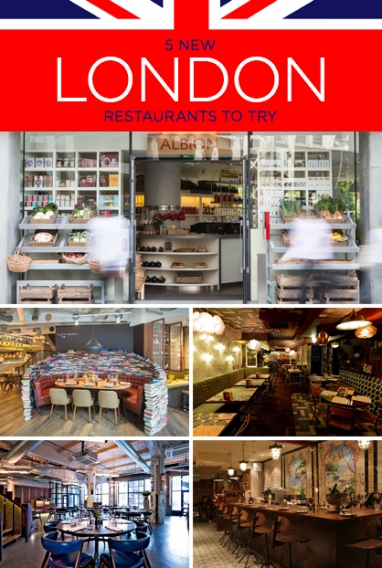 LFW: 5 New London Restaurants To Try