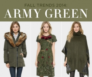 How to Wear Fall's Army Green Trend