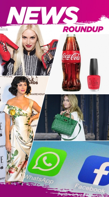 Week In Review: Facebook Buys WhatsApp, Cara Delevinge's Handbag Collection & Elle's Style Award
