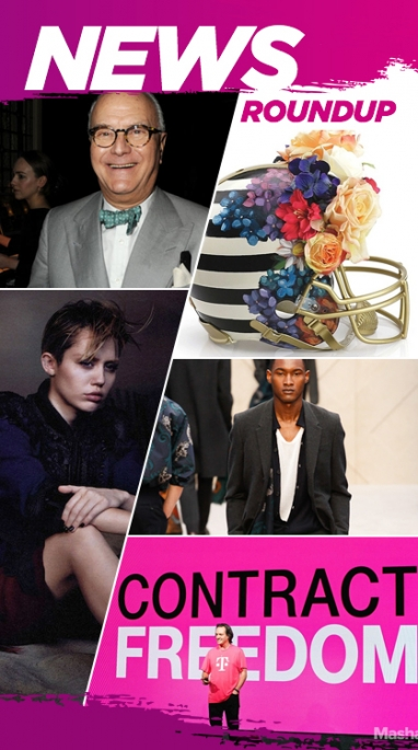 The Week In Review: Miley Gets Fashionable, Men's RTW & CES