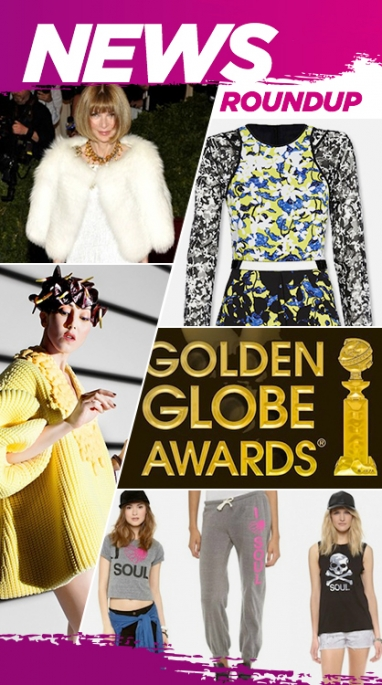 Week In Review: Golden Globe Winners, Anna Wintour Honored & Peter Pilotto's Target Collection