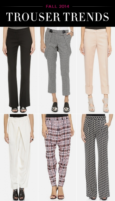 Trousers to Wear Right Now