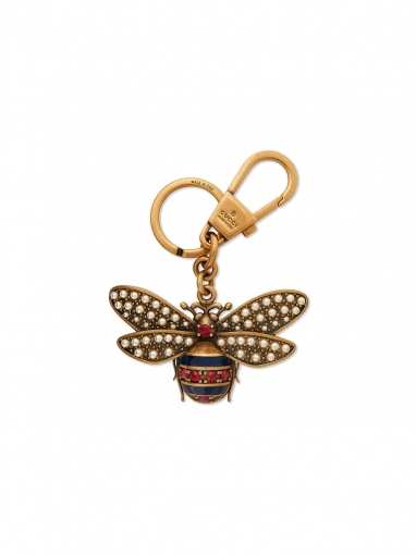 Gucci Queen Margaret key ring