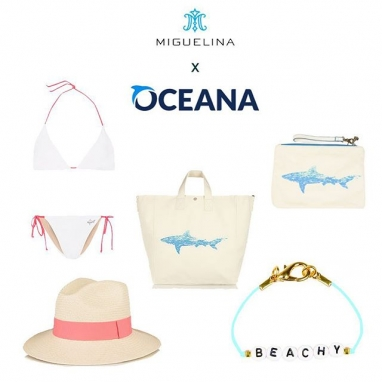 Miguelina X Oceana Capsule Collection