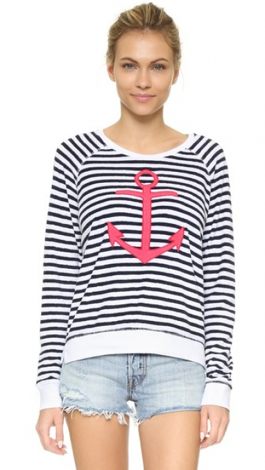 French Terry Anchor Pullover