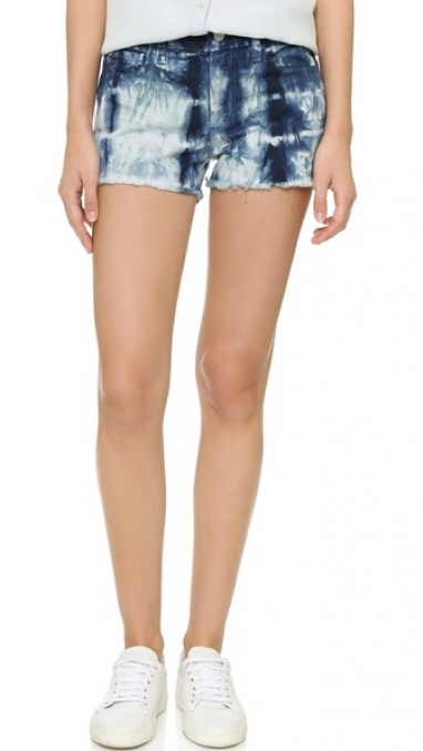 J Brand Tie-Dye Cut-Off Shorts