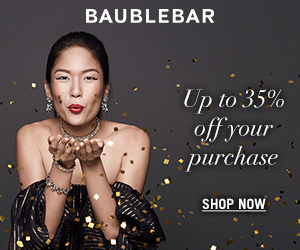 Baublebar Cyber Monday Sale | LadyLUX - Online Luxury Lifestyle, Technology and Fashion Magazine